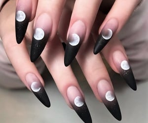 nails, nail art, and aesthetic image