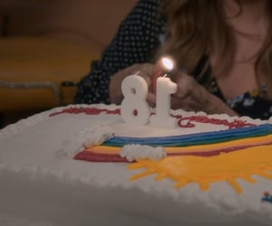 birthday cake, debby ryan, and insatiable image