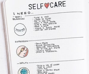 bullet journal and organization image
