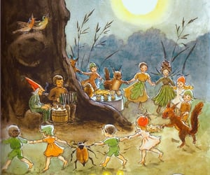 bird, dance, and fairy tale image