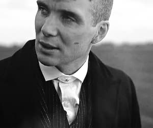 b&w, dark, and tommy shelby image