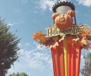 autumn, disneyland, and Halloween image