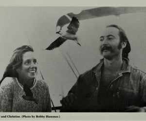 David Crosby, david and christine, and christine hinton image