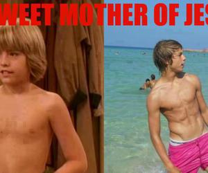 damn and cole sprouse image