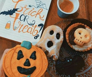 aesthetic, autumn, and cakes image
