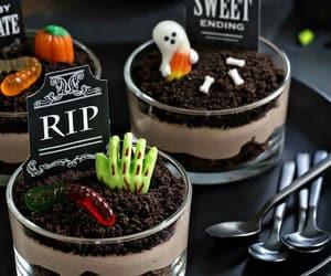 food, Halloween, and chocolate image