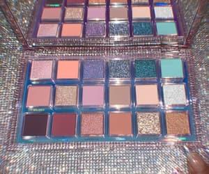 makeup, glitter, and huda beauty image