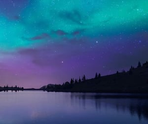 wallpaper, sky, and galaxy image