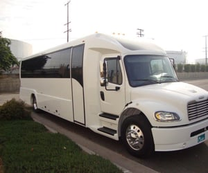 bus, toronto, and limousine image