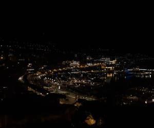 monaco, night, and view image