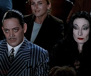addams family, aesthetics, and black image