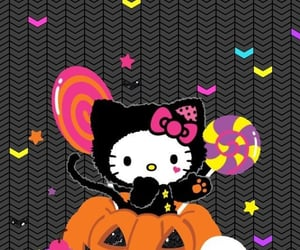 colorful, ghost, and Halloween image