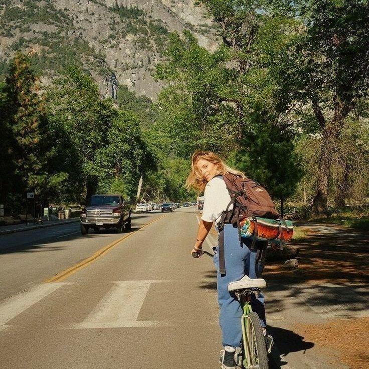 aesthetic, vintage, and bike image