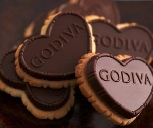 chocolate, godiva, and Cookies image