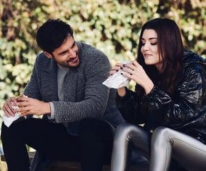 ask, hande erçel, and couple image