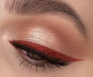 cosmetics, eyeliner, and fashion image