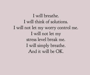 quotes, breathe, and stress image