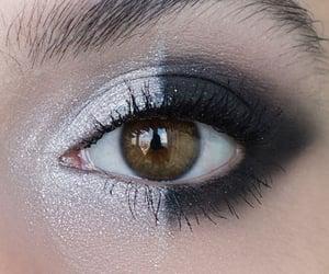 aesthetic, eyelashes, and makeup image