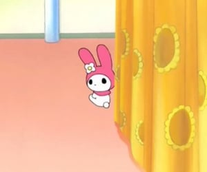 my melody, sanrio, and onegai my melody image