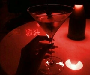 red, drink, and aesthetic image