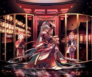 anime, kagamine len, and spirits image