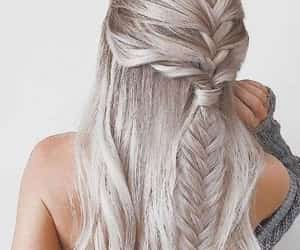 blonde hair, hairstyles, and fashion image