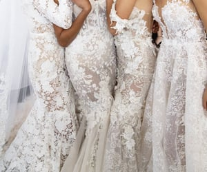 bride, inspo, and lace image