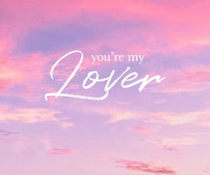 lover, Lyrics, and Taylor Swift image