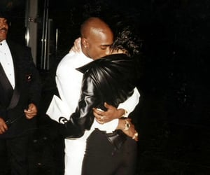 tupac, couple, and love image