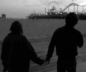 love, couple, and gif image