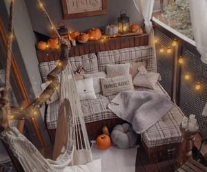 autumn, decorations, and Halloween image
