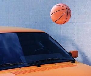 Basketball, car, and orange image