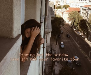 city, girl, and hotel image