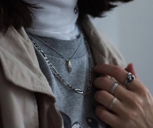 accessoires, calvin klein jeans, and necklace image
