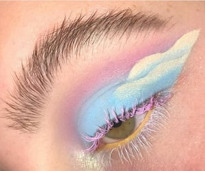 aesthetic, colorful eyeshadow, and rp theme image