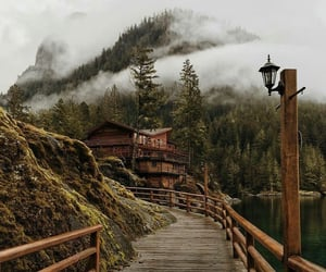 nature, house, and travel image
