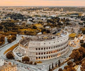 places, architecture, and rome image