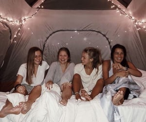 sleepover and friends image
