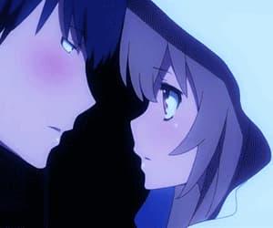 anime, toradora, and blue image