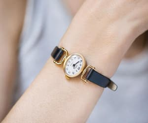 etsy, gold plated watch, and women gold watch image