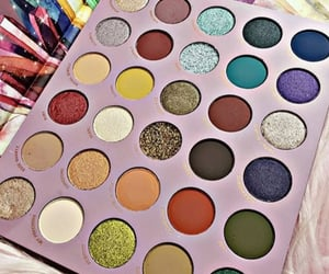 fashion, makeup, and palette image