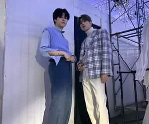 x1, seungwoo, and seungyoun image