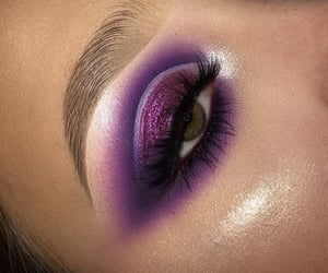 cosmetics, trendy, and eyebrows image