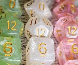 dice, diceporn, and green image