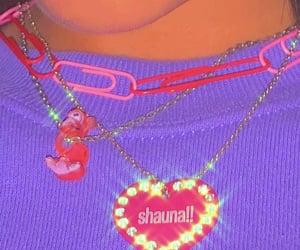 alternative, necklaces, and shiny image