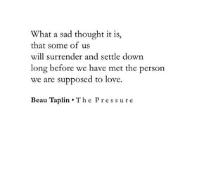poetry, beau taplin, and quote image