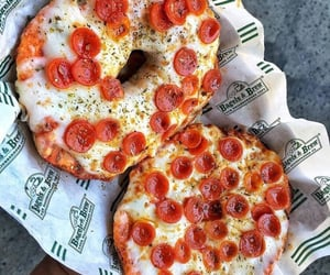 pizza, cheesy, and food image