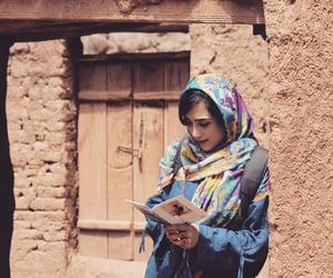 arab, girl, and hijab image