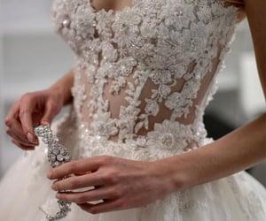 bridal, bride, and moda image