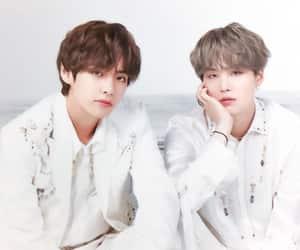 taehyung, bts, and yoongi image
